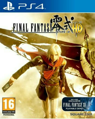 Final Fantasy Type-0 HD remaster - ps4