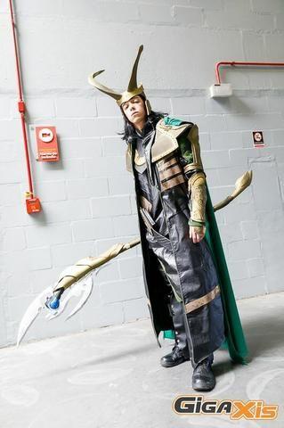 Cosplay Loki luxo completo