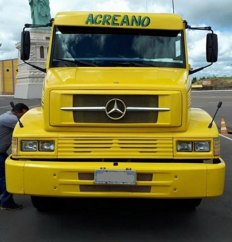 '' Caminhão Mercedes Bens 16/18 1993/1993, Com Direção Hidráulica, Inter Clima, Alarme.''