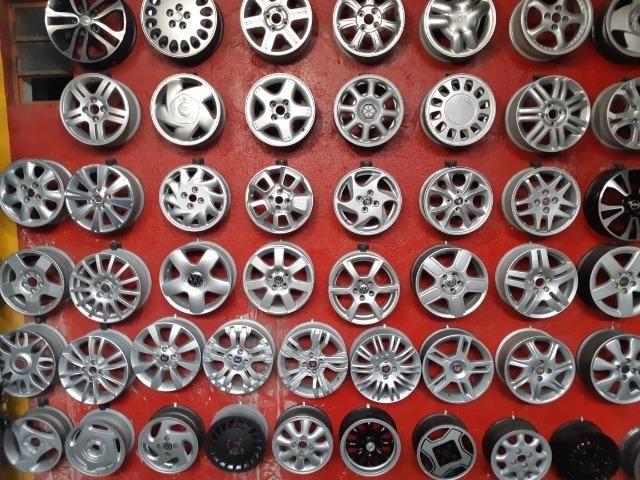 Rodas aros 13/14/15/16/17/18/19/20/22 para Fiat/GM/Nissan/VW/Toyota/Ford/Citroen e outros