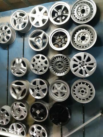 Rodas aros 13/14/15/16/17/18/19/20/22 para Fiat/GM/Nissan/VW/Toyota/Ford/Citroen e outros - Foto 7