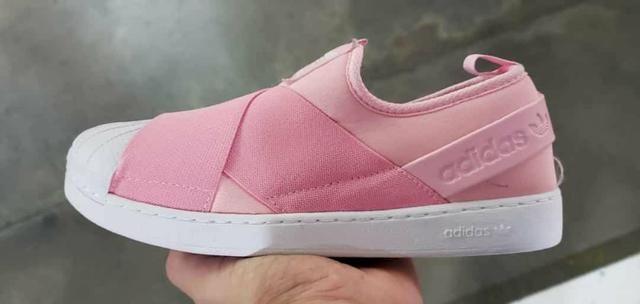 2562bde7ec1 Tênis Adidas Slip On Rosa - Roupas e calçados - Centro