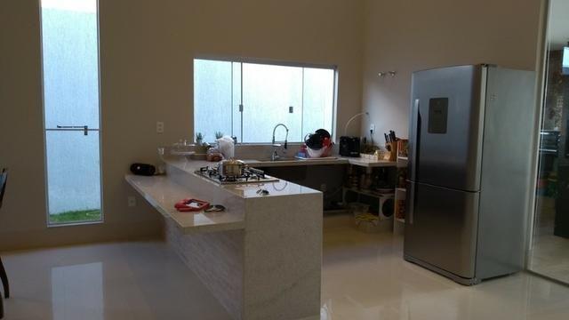 Samuel Pereira oferece: Casa 3 Suites Nova Moderna Pé Direito Duplo Piscina Churrasqueira - Foto 8