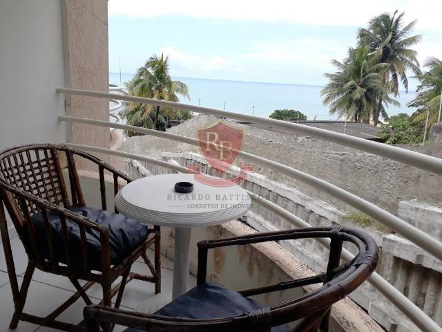 Flat mobiliado em Ponta Negra, lado sombra, linda vista - Foto 3
