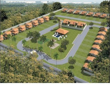 Casa com 3 dormitórios à venda, 150 m² por R$ 400.000 - Jacunda - Aquiraz/CE - Foto 15