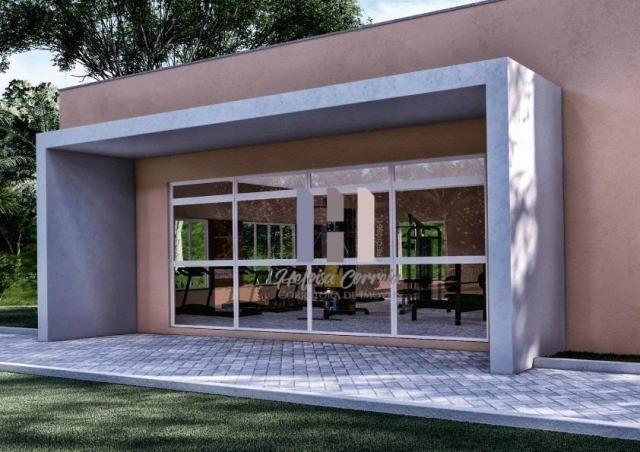 Apartamento com 2 dormitórios à venda, 48 m² por R$ 148.000 - Pium (Distrito Litoral) - Pa - Foto 4