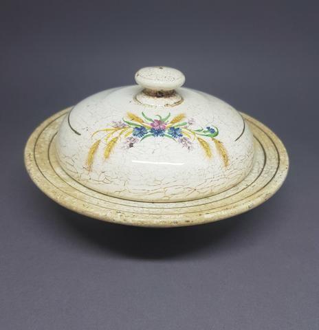 Manteigueira de Porcelana - ANTIGUIDADE - Foto 2