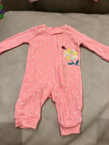 Menina pijamas 0 a 3 meses