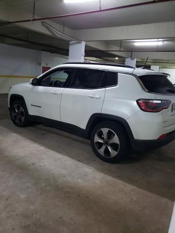 Jeep Compass 17/18 - Branco Perolado - Novíssimo