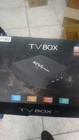 Tv box 3g 16gb 4k internet tv novo lacrado - Foto 3