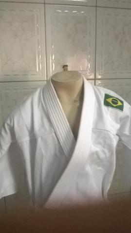 Kimono MOO Branco (03 a 04 anos idade) produtos novos e embalados - Foto 3