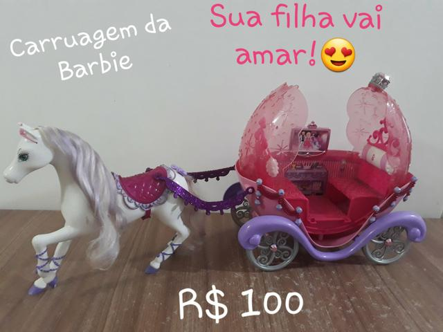 Carruagem da Barbie