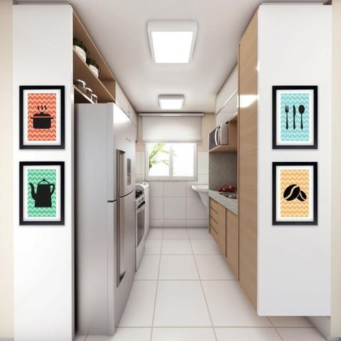 Vendo apartamento no bairro Passaré com 2 suítes e lazer completo por 167.000 - Foto 3