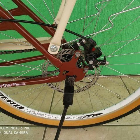 Bicicleta modelo retro nova - Foto 2