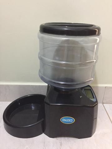 Alimentador automático para cães e gatos, usado por 1 semana - Foto 2