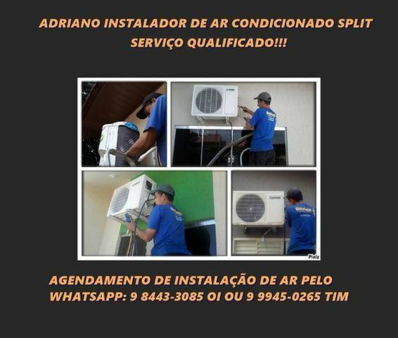 Instalo ar condicionado em Umuarama, Eletricista e instalador profissional!!