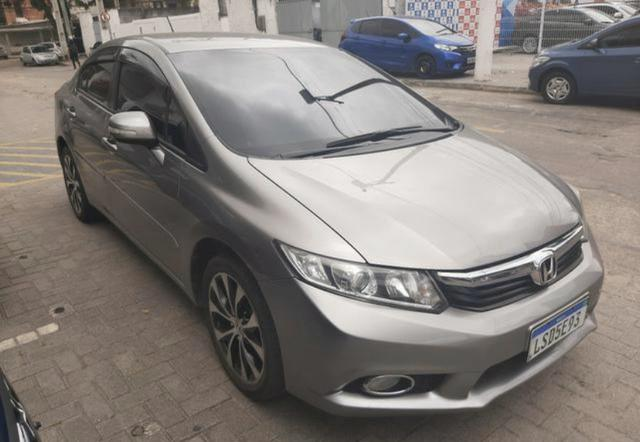 Honda Civic LXR AT 1 ano de garantia com GNV