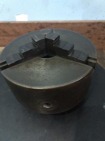 Placa de três castanhas para torno mecânico - Foto 3