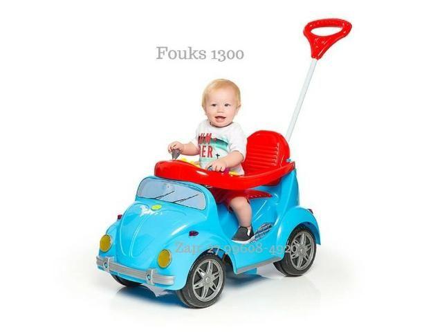 Carro de Passeio Fouks Calesita Passeio e Pedal Em 12x de R$37,41 Sem Juros - Foto 2
