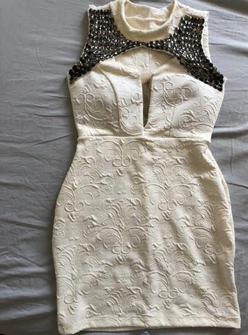 Vestido branco festa - Foto 2