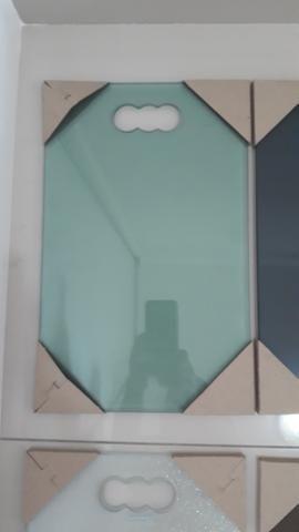Excelentes tábuas em vidro temperado - Foto 5