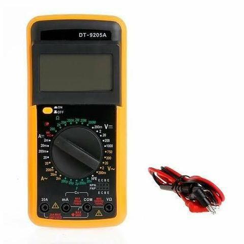 Multímetro digital com capacímetro (aceito cartão) - Foto 5