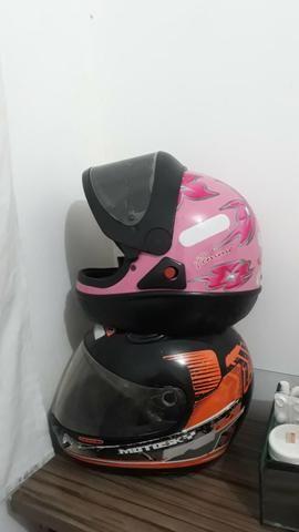 Vendo capacetes