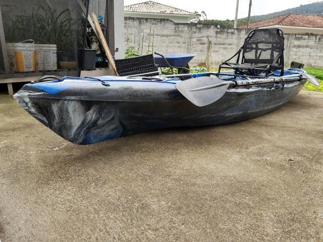 Caiaque de pesca caiman 125 - Foto 2