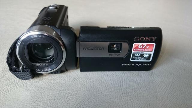 Filmadora Sony com Projetor Integrado - Foto 2
