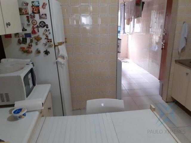Apartamento com 3 dormitórios para locação ou venda, 150 m² por r$ 500.000 - meireles - fo - Foto 8