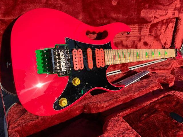 Ibanez Jem777 SP edição aniversário 30 anos Gibson Fender - Foto 4