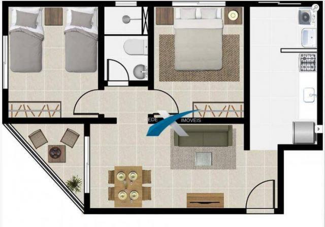 Apartamento a venda 2 quartos Havaí - Foto 5