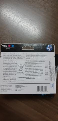HP 940 de impressão magenta com cyan VALIDADE 2020 - Foto 2