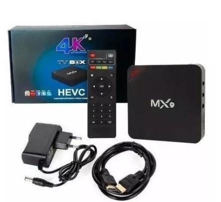 Tv box 3g 16gb 4k internet tv novo lacrado