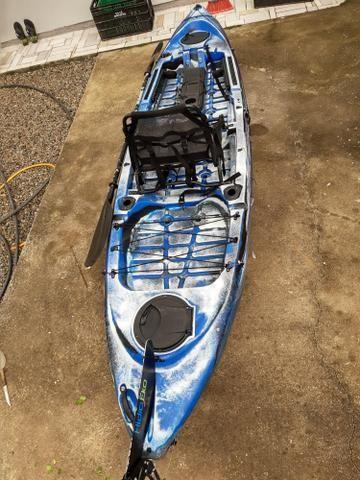 Caiaque de pesca caiman 125 - Foto 3