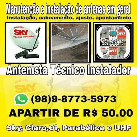Antenista antenas