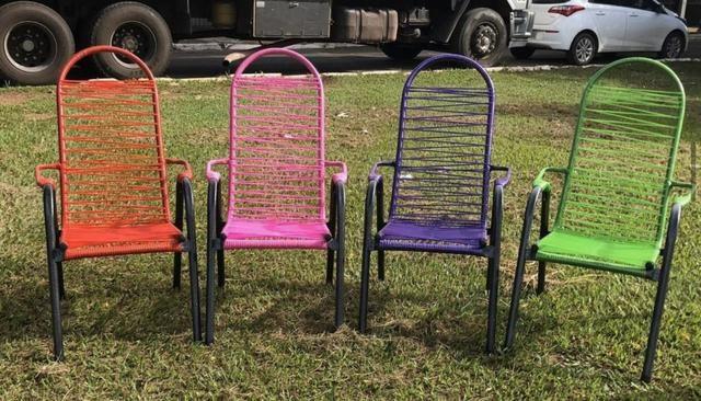 Cadeiras de fio novas - Foto 2