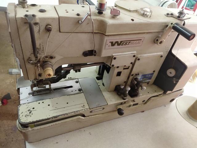 Máquina de costura cazeadera westman - Foto 2