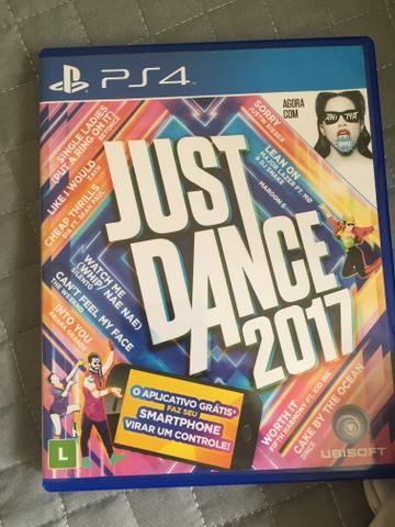 Vendo just dance 2017 ps4