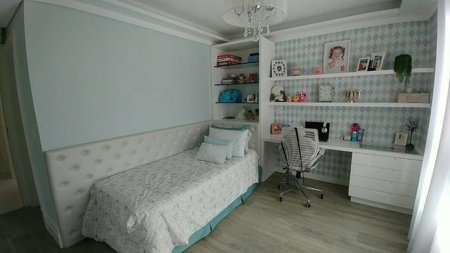 Apartamento bem mobiliado de 3 dormitórios no Centro de Florianópolis - SC - Foto 11