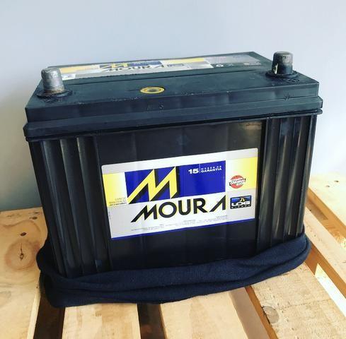 Bateria Moura 80ah Semi Nova