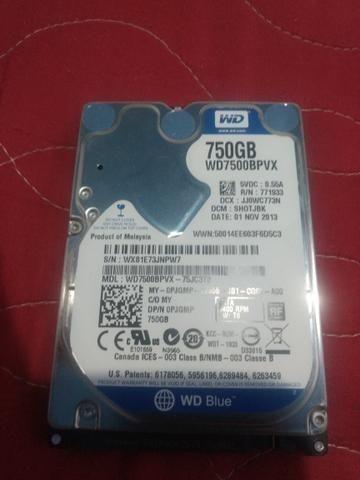 Hd Notebook 750 GB WD