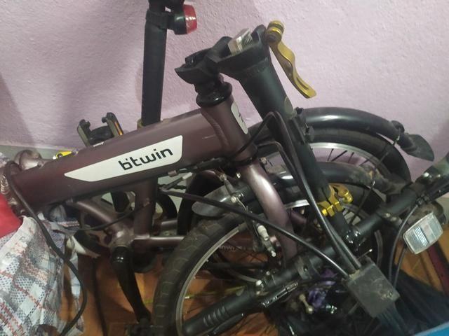 Bicicleta dobrável btwin hoptown 5 - Foto 5