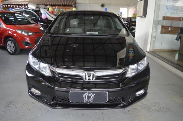 Honda Civic Sedan LXR 2.0 Flexone 16V Aut. 4p - Preto - 2014 - Foto 2