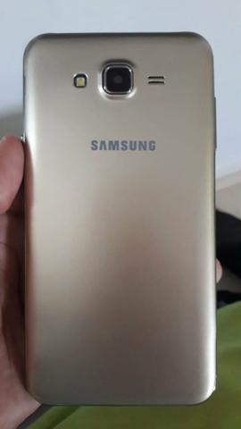 Samsung j5 16gb com flash frontal aceito cartao - Foto 6