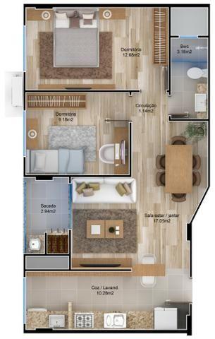 VA-Lindo apartamento em Camboriú! Confira! - Foto 3