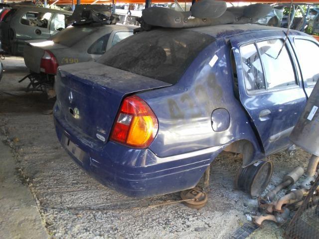 Sucata Clio Sedam 2002 - Motor Câmbio Peças Acessórios - CDV Credenciado