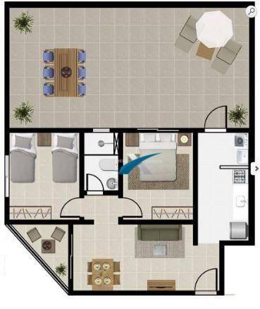 Apartamento a venda 2 quartos Havaí - Foto 2