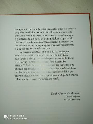 Livro projeto b a viagem de villa-lobos - Foto 5