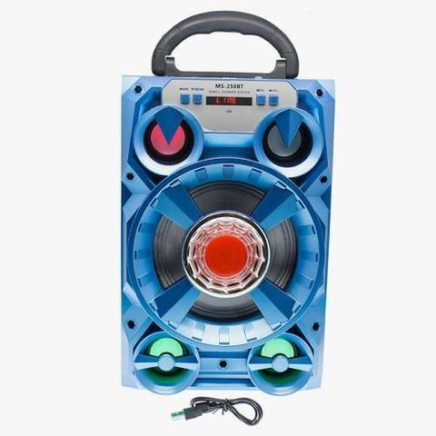 Caixa de Som 5 Alto-falantes Bluetooth Portatil Amplificada - Foto 3